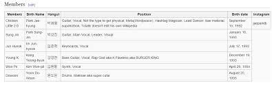 Edit Wiki Appreciation Day6 Troll King Jae Hacking Their Wikipage