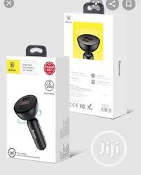 <b>Baseus</b> Car MP3 Bluetooth Charger 3.4A (<b>Shaking</b>-<b>Head</b>) in Ikeja ...