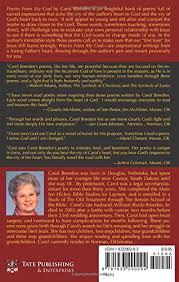 Poems From My God Carol Breeden 40 Amazon Books Stunning Sper Poetry