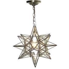 chandeliers moravian star light chandelier moravian star pendant chandelier small clear glass by worlds away