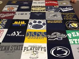 131 best T-Shirt Quilts images on Pinterest | Tee shirt, Quilt and ... & A #PennState t-shirt quilt from Project Repat! Turn your #nittanylions t Adamdwight.com