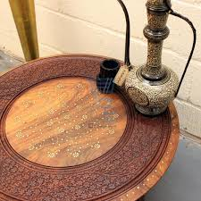 coffee table coffee tables carved wood round table antiqued west elm moroccan tea 89 literarywondrous