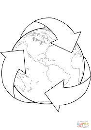 Small Picture Download Coloring Pages Recycling Coloring Pages Earth Day