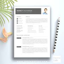 Teacher Resume Templates Free Extraordinary Free Modern Resume Template For Teachers Resume Template Modern Cv