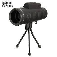 MONI Monocular <b>40X60 Zoom Dual</b> Focus Optical <b>HD</b> Lens ...