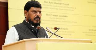 Maharashtra Rpi A Chief Ramdas Athawale Slapped By Youth In