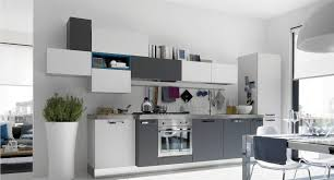 Innovation Modern White And Gray Kitchen Of Are Grey Cabinets Trendy Intended Ideas