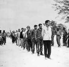 bay of pigs invasion n united states history com a group of captured u s backed n exiles known as brigade 2506 being