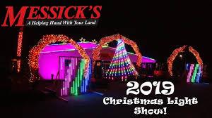 Messicks Light Show 2019 Tractor Christmas Light Show By Messicks Kubota