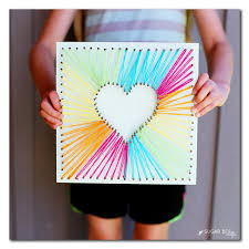 brighten up your space with some diy string art for your walls