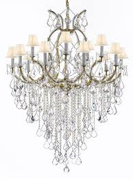 maria theresa chandelier crystal lighting chandeliers with shades to enlarge