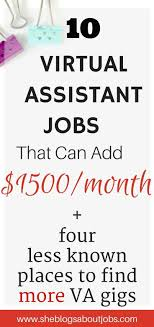 17 best ideas about virtual assistant virtual virtual assistant jobs from home that pay really well