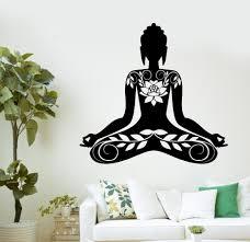 Small Picture Aliexpresscom Buy Buddha Vinyl Decal Buddha Meditation Mantra