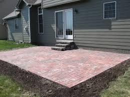 Outdoor Brick Paver Patio Designs Simple Brick Paver Patio Designs Modern Outdoor