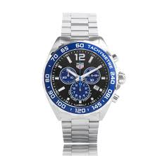 tag heuer watches the watch gallery® tag heuer f1 quartz stainless steel blue dial twg exclusive mens watch caz101a ba0842