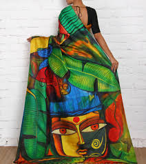 pea designs for painting on sarees best 2018