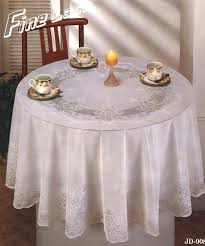 90 inch round tablecloth in white with windows treatment also wood dining chair for dining room
