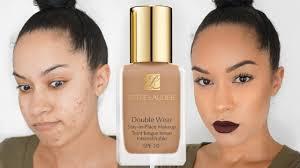 estee lauder double wear foundation review demo