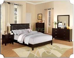 bedroom furniture wall painted woman solid wood ceiling lighting leather bedroom set classic curved headboard master walnut drawer bunk bed dark brown