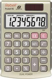 Rebell Re Pocket 5g Pocket Calculator 8 Digit