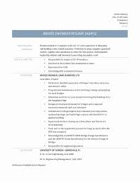 Civil Engineer Resume Sample Resume format for Experienced Civil Engineers Awesome 60 Lovely 44