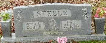 STEELE, IVA PAULINE - Franklin County, Arkansas | IVA PAULINE STEELE -  Arkansas Gravestone Photos