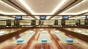 Luxury home yoga studio design