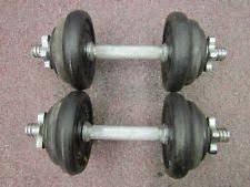 york legacy dumbbells. york 20kg black cast iron spinlock dumbell training gym fitness weights set legacy dumbbells