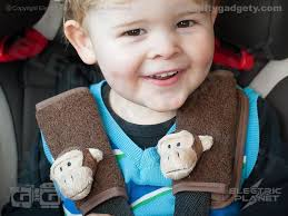 monkey car seat harness covers