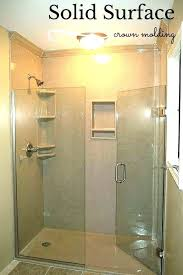 solid surface shower walls solid surface shower surrounds lovely solid surface shower walls solid surface shower