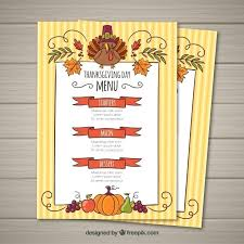 Thanksgiving Day Free Flyer Template Menu Templates Helenamontana Info