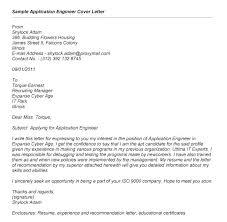 Job Application Cover Letter Format For Covering Letter For Job