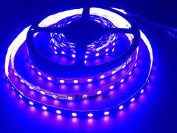 420-430nm UV <b>5050 SMD LED</b> Light Strip, 60 <b>LED</b>/M, 5m/reel, <b>DC12V</b>