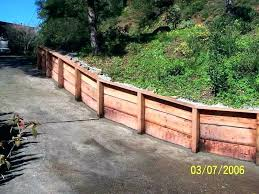 modern retaining wall wood retaining wall post spacing wood retaining wall awesome treated lumber retaining wall
