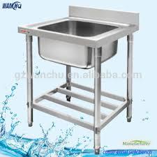 stainless steel outdoor sink. Singel Bowl Outdoor Stainless Steel Laundry Sink Hans Kitchen Basin Restaurant A