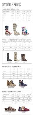 66 Genuine Work Boot Size Chart