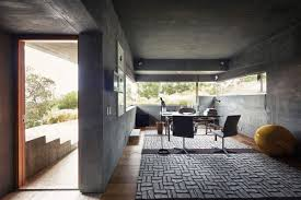 contemporary home office. Home Office, Extraordinary Contemporary In California With Ocean Views Office A