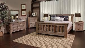 Rustic Pine Bedroom Furniture And Rustic Dark Pine