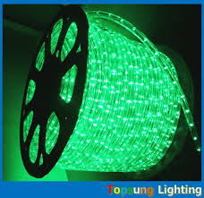 Rope Lights Walmart Beauteous 32 Wire Round Green Christmas Decoration Led Rope Lights Walmart