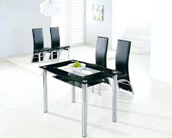 small glass dining table set small black dining table small glass dining table and 4 chairs