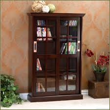 Living Room Cabinet With Doors Colorful Living Room With Walnut Cherry Black Oak Wooden Dvd