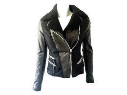 armani exchange jacket jackets leather black ref 23559