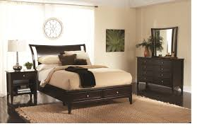 Modern Sleigh Bedroom Sets Aspenhome Kensington Sleigh Bedroom Set In Java
