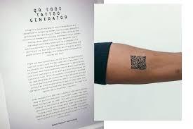 Qr Tattoo Generator Dakota Nguyen