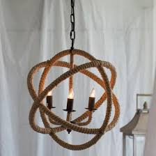 corsair 4 light nautical rope pendant nautical pendant lights