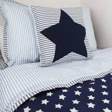blue single bed duvet cover and pillow case