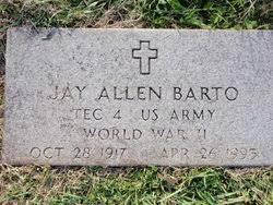 Jay Allen Barto (1917-1993) - Find A Grave Memorial