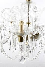 italian superb vintage venetian eight light crystal chandelier for