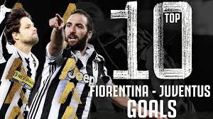 Fiorentina v Juventus - Top 10 Juventus Goals | Bentancur, Diego, Higuain &  More!