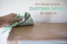 dusting furniture. DIY Dusting Spray Dusting Furniture
